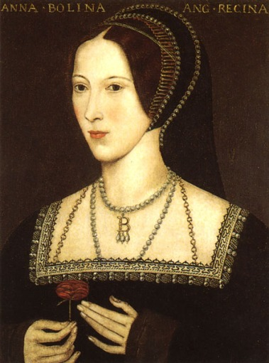 Anne Boleyn - image via Wikipedia